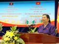 Đoàn nữ Đại biểu Quốc hội Việt Nam và Lào làm việc với tỉnh Quảng Nam