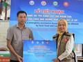 Tỉnh Sơn La tiếp nhận hàng cứu trợ dân vùng lũ của ASEAN