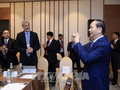 Chủ tịch nước Trần Đại Quang gặp gỡ các doanh nghiệp lớn của Hoa Kỳ