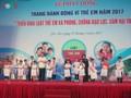 Phát động Tháng hành động vì trẻ em 2017