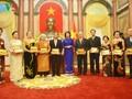 Phó Chủ tịch nước Đặng Thị Ngọc Thịnh tiếp Đoàn cựu giáo viên kiều bào Thái Lan