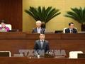 Thống đốc Ngân hàng Nhà nước Lê Minh Hưng trả lời chất vấn của các đại biểu Quốc hội