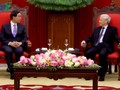 Party leader receives RoK President's Special Envoy