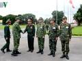 El mandatario vietnamita orienta la labor de defensa nacional