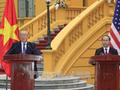 Совместная пресс-конференция президентов Вьетнама и США