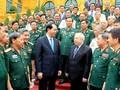 ประธานประเทศเวียดนามพบปะกับกองกำลังทหารอาสาสมัครเวียดนามที่ช่วยเหลือกัมพูชา