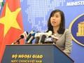 ยืนหยัดคัดค้านการกระทำที่ละเมิดอธิปไตยของเวียดนามเหนือหมู่เกาะหว่างซาและเจื่องซา