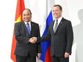 นายกรัฐมนตรีเวียดนามพบปะกับนายกรัฐมนตรีรัสเซียและประธานาธิบดีฟิลิปปินส์