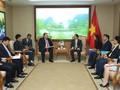 브엉띤후에 부총리, AES 에너지 회사(미국)의 베트남 시장 총괄 책임자 접견