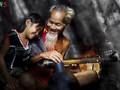 Chùm ảnh: Hạnh phúc gia đình ấm áp và giản dị ở những miền quê Việt Nam
