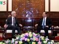 Президент СРВ Чан Дай Куанг принял генсекретаря Интерпола Юргена Штока