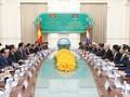 Party leader encourages cooperation between Vietnamese, Cambodian localities