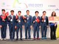 Vietnam ranks third at international math Olympiad