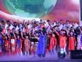 Teaching choral art to children in Hanoi