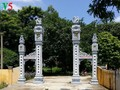 Aldea de escultura de estatuas de Vu Lang