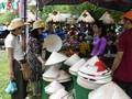 Mercado al aire libre, un producto del turismo comunitario en Hue