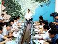 Sitzung zum Wappnen gegen Taifun Doksuri