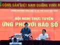 Vizepremierminister Trinh Dinh Dung ordnet höchste Bereitschaft bei Begegnung mit Taifun Doksuri an
