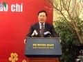 Die Presse trägt zur Verbesserung der Position Vietnams auf internationaler Bühne bei