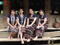 Der lebhafte Raum des Guoi-Hauses in der Gemeinde Lang