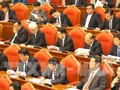 Party Central Committee discusses raising political system's efficiency