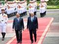 Le Premier ministre turc reçu par des dirigeants vietnamiens