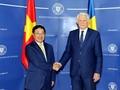 Pham Binh Minh en visite en Roumanie