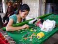 Деревня кружев Ванлам в провинции Ниньбинь