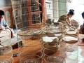 Промысел по изготовлению птичьих клеток в деревне Каньхоать