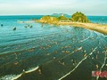 Playa de Cua Lo, zona de descanso atractivo en Nghe An