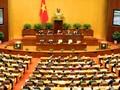 Ouverture de la 3ème session de la 14ème législature