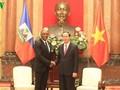 Le président du sénat haïtien termine sa visite au Vietnam