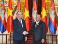 Nguyen Xuan Phuc reçoit le président de l'Assemblée nationale cambodgienne