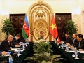 Entretien entre Pham Binh Minh et Elmar Mammadyarov