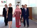 Nguyen Thi Kim Ngan rencontre la ministre australienne des Affaires étrangères