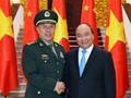 Nguyen Xuan Phuc reçoit Fan Changlong