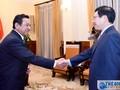 Deputi PM, Menlu Pham Binh Minh menerima Dubes Mongolia