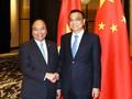 越南和中国一致同意推动双边贸易平衡发展