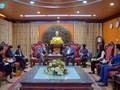 Entretien entre le président de VOV et l'ambassadeur de France au Vietnam