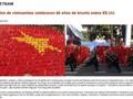 Ausländische Medien berichten über die Feier zum 40. Jahrestag der Befreiung  Südvietnams