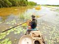 Mekong-Delta in der Überschwemmungssaison