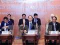 Staatspräsident Tran Dai Quang leitet den inoffiziellen Dialog zwischen APEC-ASEAN