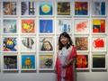 Nguyễn Mai Hương với bộ đôi giải thưởng của Triển lãm Mỹ thuật quốc tế Hàn Quốc