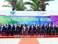 Thủ tướng dự hội nghị Bộ trưởng Tài chính APEC