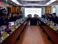สถานีวิทยุเวียดนามให้การต้อนรับคณะผู้แทนสื่อมวลชนและวัฒนธรรมมณฑลกวางสี ประเทศจีน