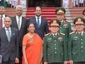 รัฐมนตรีโงซวนหลิกเจรจากับคณะผู้แทนระดับสูงของกระทรวงกลาโหมอินเดีย