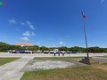 Flag salute ceremony and parade on Truong Sa archipelago