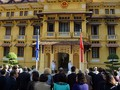 Flag hoisting ceremony to mark ASEAN's 50th anniversary