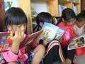 Biblioteca de amor para niños necesitados