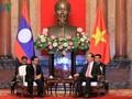 Reafirman voluntad de ampliar y profundizar relaciones Vietnam-Laos